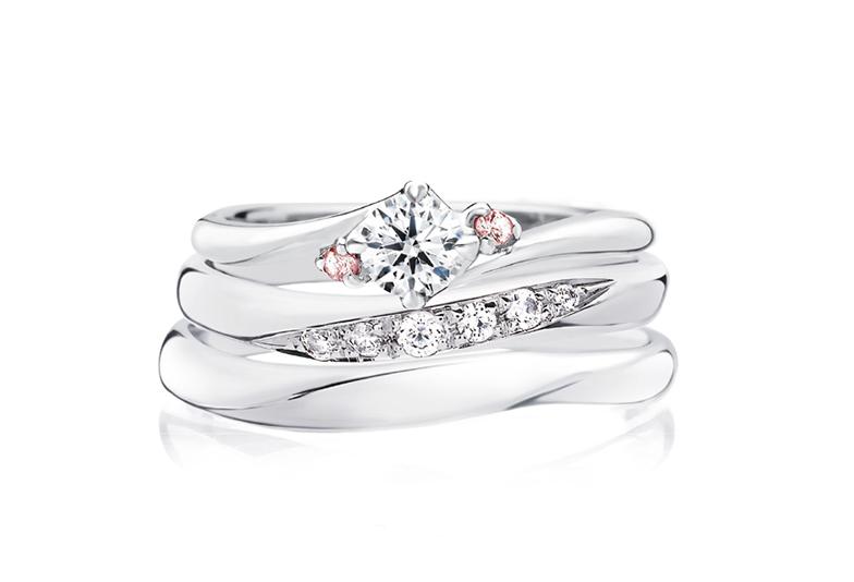 【山形】永遠の愛に想いを込めて。婚約指輪に「ピンクダイヤモンド」を添えて!