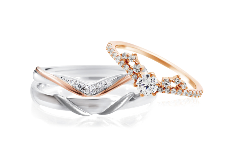 【山形】婚約指輪と結婚指輪のセットでお探しなら「Story of rings-ストーリーオブリングス-」がおすすめ
