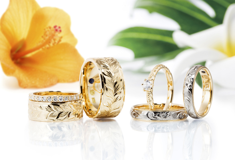【大阪・梅田】本格ハワイアンジュエリーでたった一つの結婚指輪を…