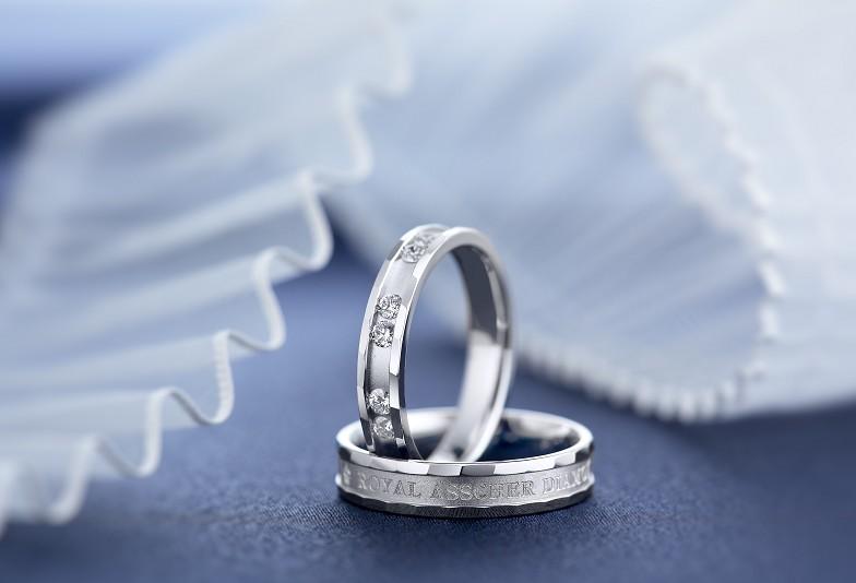 【富山市】太さのある結婚指輪でデザイン性を楽しもう!