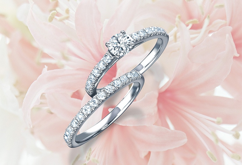 【金沢市】婚約指輪は世界三大ダイヤモンドのモニッケンダムにお任せ!上品さと可愛らしさの融合