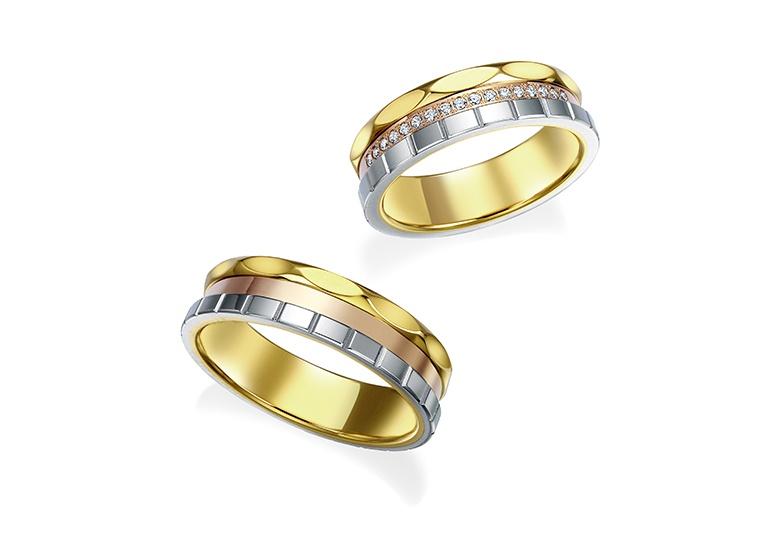 富山市で人気のモニッケンダムの結婚指輪