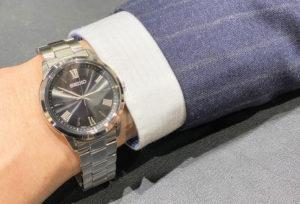 【福井市ベル】就活生に人気!プライベートにも使える腕時計!~男性編~