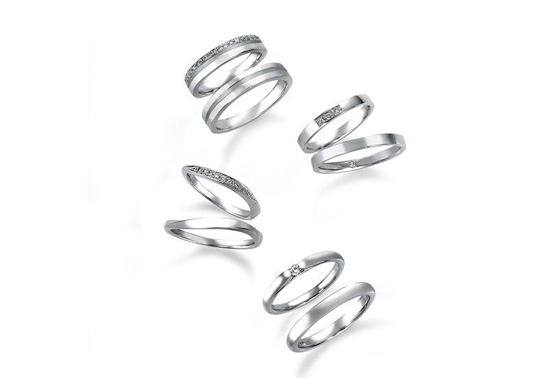 【福井市ベル】みんなはどっち?結婚指輪のダイヤモンドは1石派or複数派?