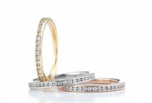 【福井市】婚約指輪、ロイヤルアッシャーは重ね着けしやすいエタニティリングが豊富!