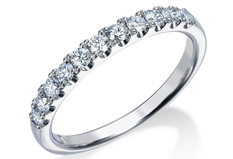 【富山市】婚約指輪・結婚指輪におすすめなハーフエタニティリングとは?