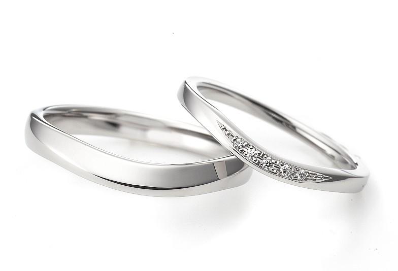 福井市で見られるダイヤが綺麗なラザールダイヤモンドの結婚指輪
