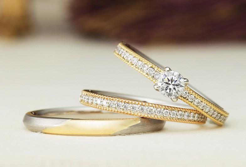 【高岡市】必見!今の流行はアンティーク調の結婚指輪!