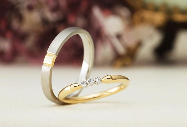 金沢市結婚指輪 金沢市アンティック アンティック結婚指輪 結婚指輪マット