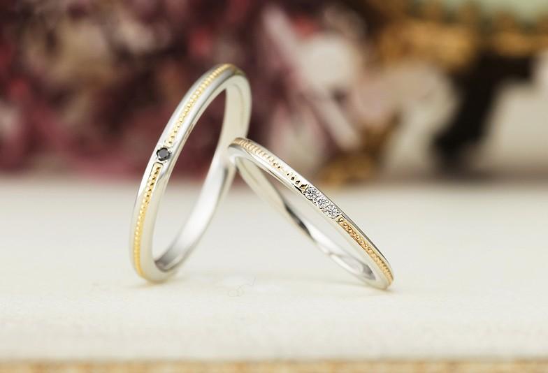 【富山市】お洒落な結婚指輪を探している方に!「ミル打ち」のデザインをご紹介!