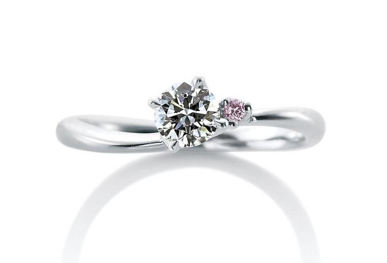 カフェリング婚約指輪