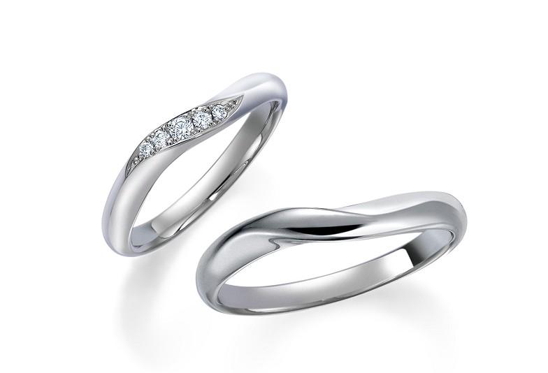 福井市結婚指輪福井市マリッジリング福井市ロイヤルアッシャープラチナリング