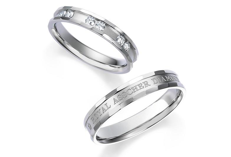 富山市でおすすめのロイヤルアッシャーの結婚指輪