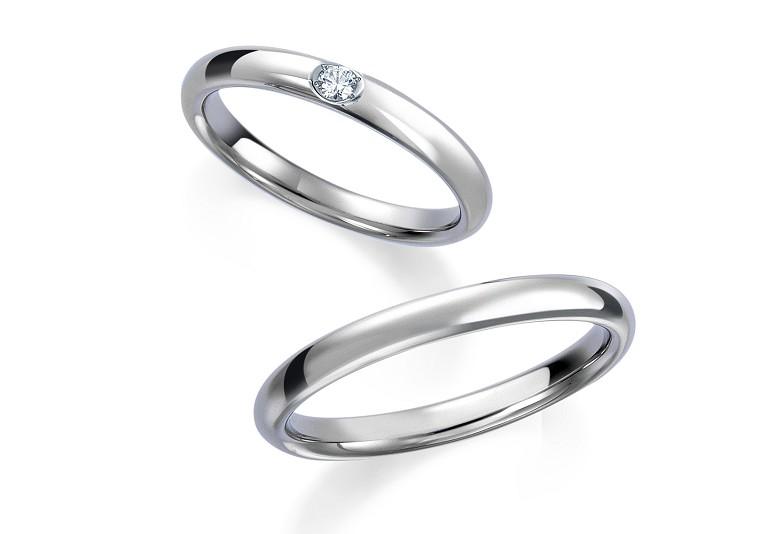 富山市人気の結婚指輪ロイヤルアッシャー
