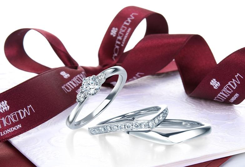 【富山市】純白のドレスにぴったりなモニッケンダムの結婚指輪ベスト3