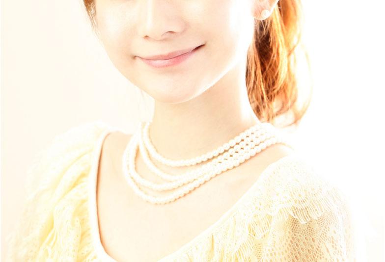 【神奈川県横浜市】真珠ネックレスの正しい身に着け方