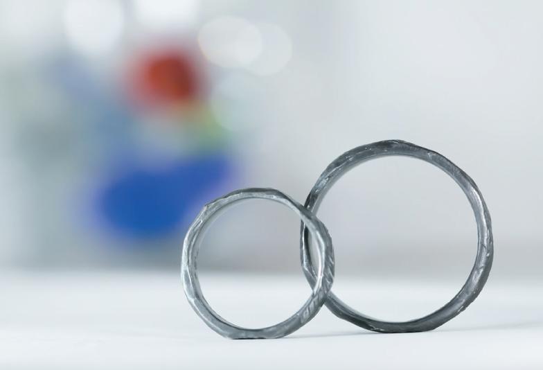 【兵庫・神戸三ノ宮】 男性にも人気のデザイン!つや消しの結婚指輪って?