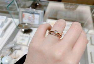 【三宮・北野】シンプルだけどおしゃれ!が叶う「AMOUR AMULET」アムールアミュレットの婚約指輪&結婚指輪