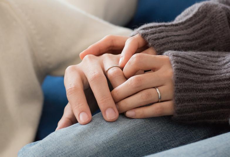 【福山市】先輩花嫁に聞いた!「一生身に着けられる」派の私たちは、こんな結婚指輪を選びました♡