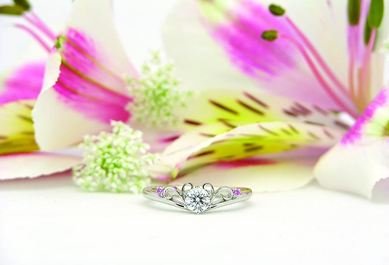 【静岡市】可愛い婚約指輪をお探しなら、ピンクダイヤモンドが輝く『Dolfaniドルファーニ』がおすすめ!