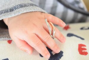 【富山市】婚約指輪・結婚指輪とお揃いデザインのベビーリングが作れる!今話題のベビーリングとは?
