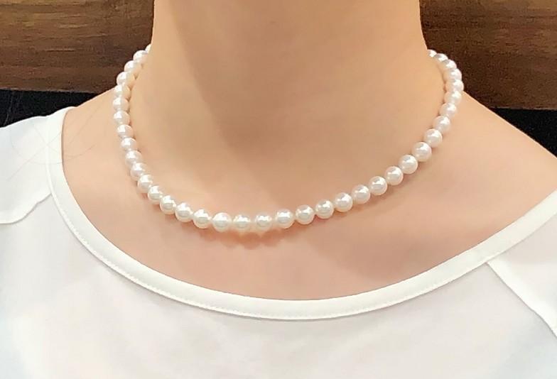 【富山市】真珠ネックレスのサイズの選び方とは?