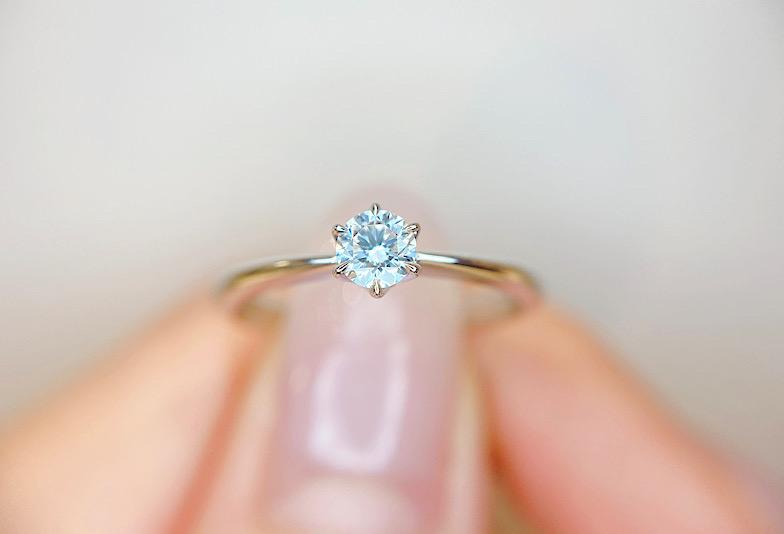 【福井市】婚約指輪選び、迷ったらこれ!王道シンプルデザイン