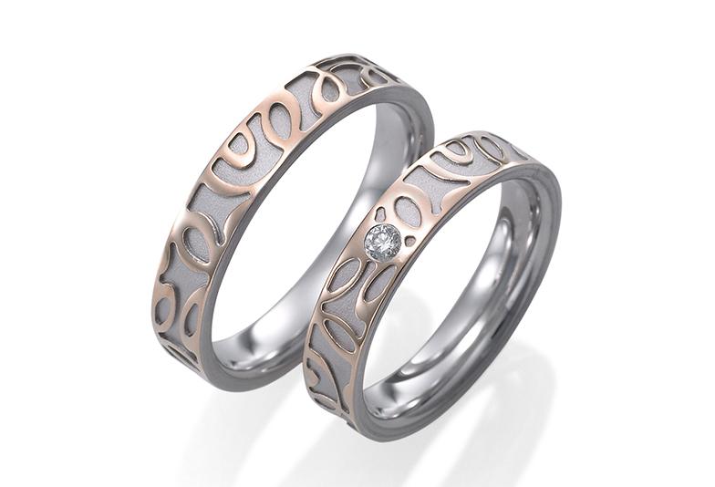 【富山市】結婚指輪はドイツの鍛造ブランドがオシャレ!人気の「FISCHER」のご紹介