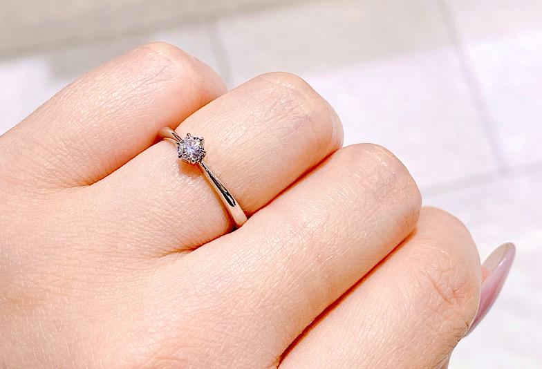 【金沢市】高品質・納得・安心 10万円台の婚約指輪