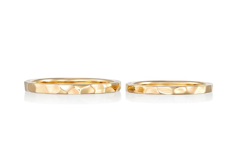 【静岡市】結婚指輪最新デザイン!『鎚目』リングって知ってる?