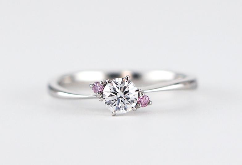 【日田市】幸せを呼ぶピンクダイヤモンドをブライダルリングに