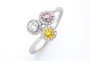 【福岡県久留米市】愛と幸福のシンボル、ピンクダイアモンド
