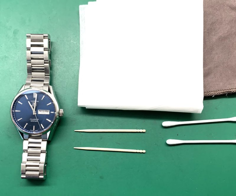 時計クリーニング