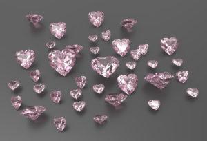 【荒尾市】華やかな輝きが特徴のピンクダイアモンド