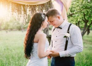 【久留米市】結婚指輪の内側に秘められた秘密の石