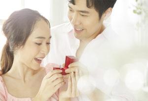 【福岡県久留米市】華やかな婚約指輪でおしゃれ花嫁に