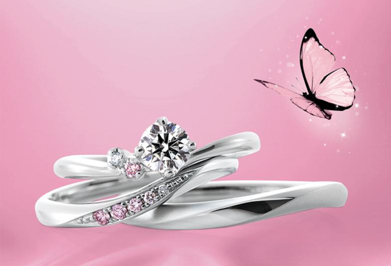 【広島市】花嫁指名率ナンバーワン!ピンクダイヤモンドの結婚指輪とは