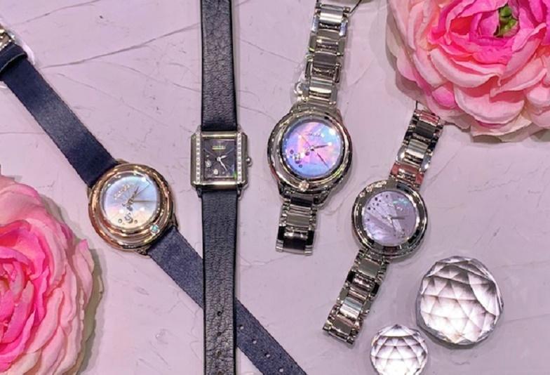 【石川県小松市イオンモール】ジュエリー感覚の腕時計!ダイヤモンドが輝く「シチズンエル」