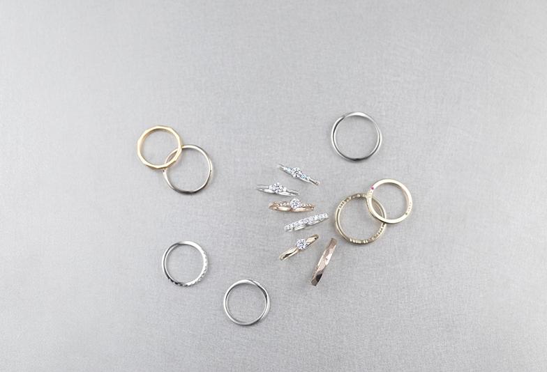 【静岡市】素材選びが楽しい結婚指輪。カラーバリエーション豊富な「FORTE」で自分に似合う素材を見つけませんか?
