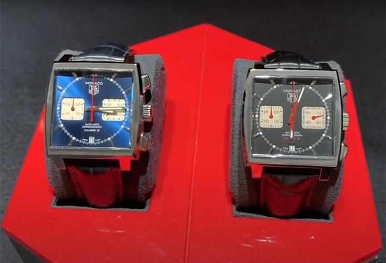 【動画】静岡市 TAG Heuer〈タグホイヤー〉時計 モナコ クロノグラフ