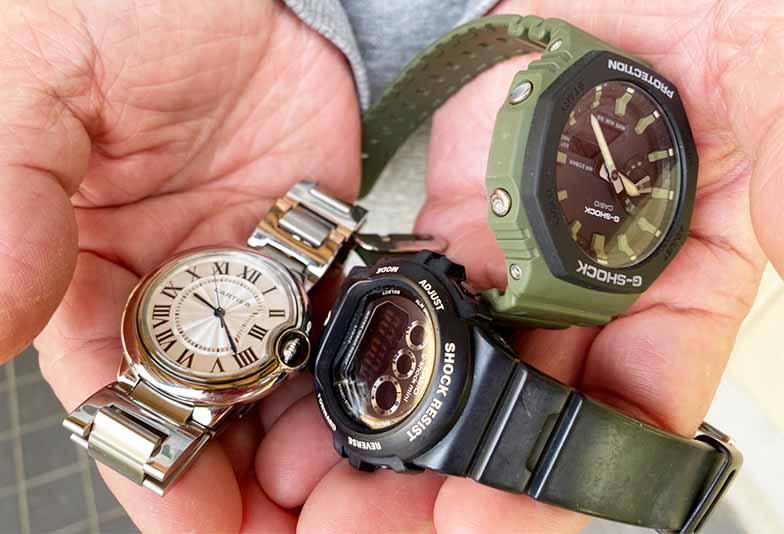 【福井市エルパ】ブランド時計、ここなら電池交換可能!