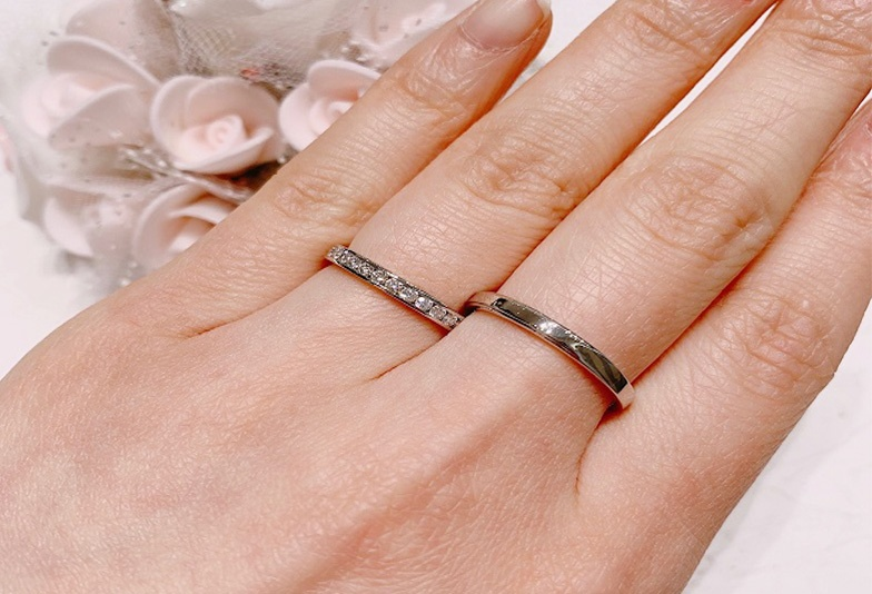 【石川県小松市イオンモール】結婚指輪のデザイン「ストレート」がもたらす印象って?