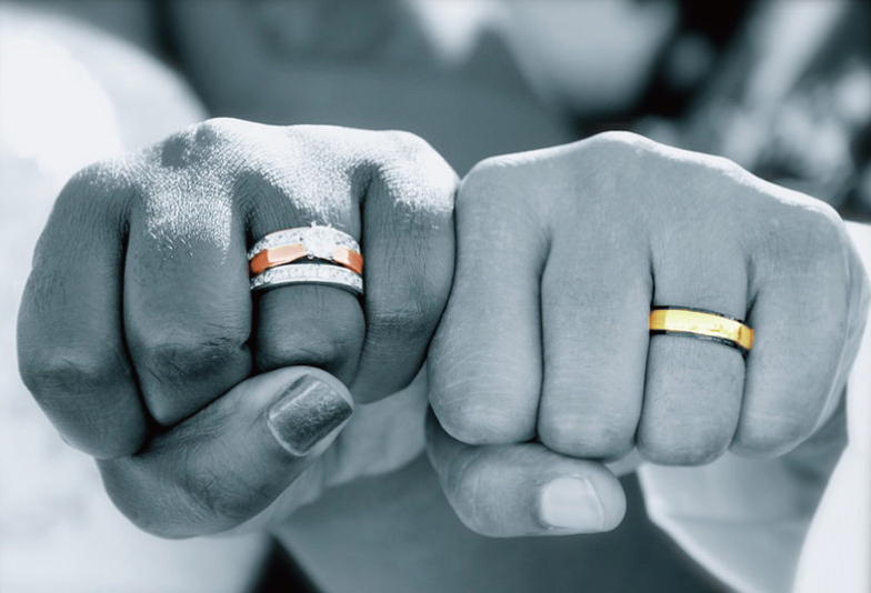 【沖縄県】結婚指輪は太めのデザインが希望。対応できるお店・ブランドは?