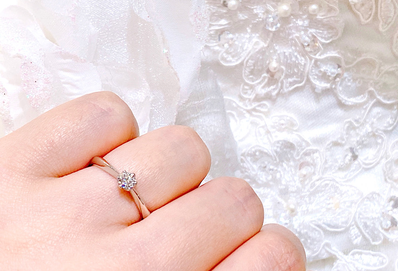 彼女様の指輪のサイズを知るには