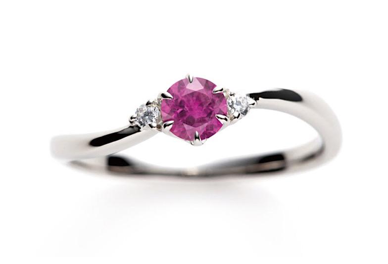【新潟市】婚約指輪はダイヤモンド以外も選べます!誕生石の婚約指輪を贈ろう!
