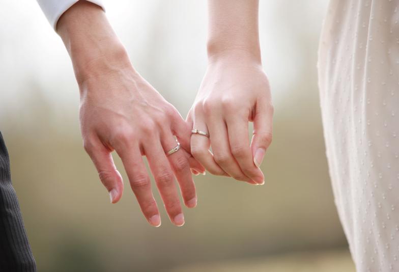 """【兵庫県・姫路市】お二人の指輪に双子ダイヤモンドを入れる事が出来る""""永遠の絆リング"""""""