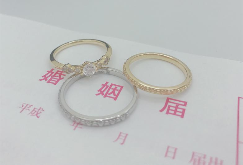 【大阪・岸和田市】婚約指輪と結婚指輪をセットリングでお得に揃えるコツ!
