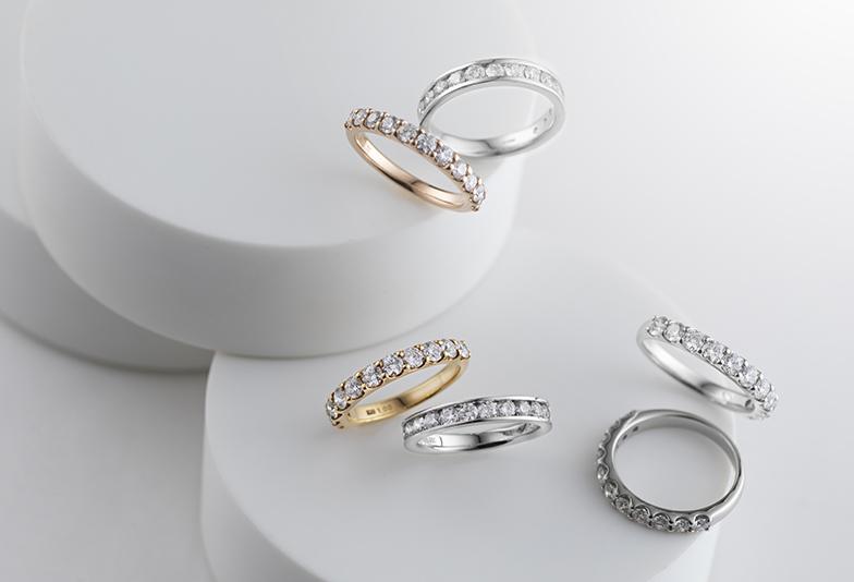 【静岡市】女性に大人気!ダイヤモンドを贅沢に使ったエタニティリングとは?