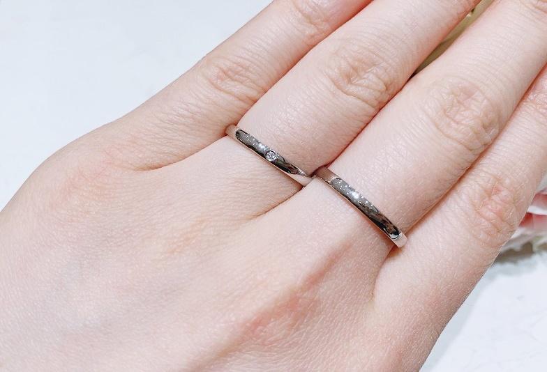 【金沢市】「やっぱりこれ!!」王道な真っ直ぐストレートの結婚指輪オススメポイント!