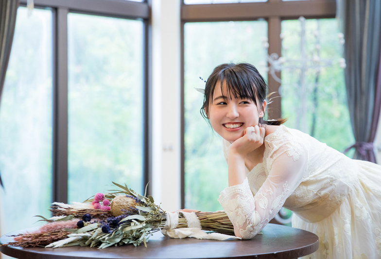 【福岡県久留米市】華奢なデザインで大人可愛い婚約指輪